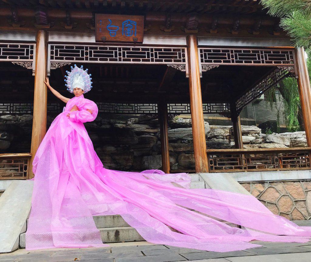 vestidos artista chino